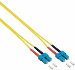 EFB Elektronik O2513.2 Glasvezel Aansluitkabel [1x SC-stekker - 1x SC-stekker] 9/125 µ Singlemode OS2 2.00 m