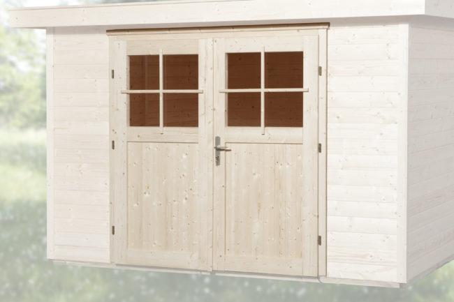 Afbeelding van WEKA | Dubbele deur tbv 21 + 28 mm wanddikte