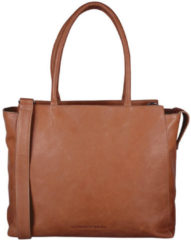"Cowboysbag Laptop Bag Evi 15.6"" Schoudertas Cognac 2218"