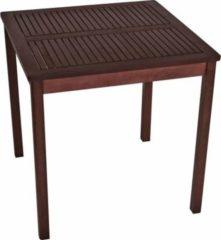 Gartenmoebel-einkauf Tisch ARUBA 70x70cm, Eukalyptus geölt