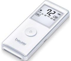 Grijze Beurer ME90 - Mobiel ECG apparaat - USB data-overdracht - Hartslagmeting