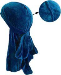 Durag Waves Velvet (Suede) Edition|Premium High Quality|Silky|Haardeksel|Hoofddoek|Cabantis|Turquoise