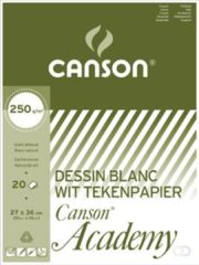 Canson Tekenblok Academy formaat 27 x 36 cm