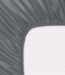 Antraciet-grijze Zijden Hoeslaken inSilk voor topdek matras 2-persoons Antraciet 160 x 200 cm - 100% Puur Zijde