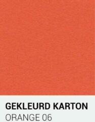 Oranje Gekleurdkarton notrakkarton Gekleurd karton orange 06 30,5x30,5 cm 270 gr.