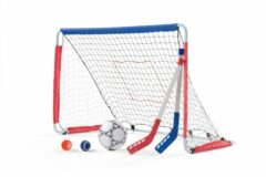 Step2 kickback voetbal- en hockeygoal 6-delig wit 123 cm