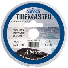 Albatros Vislijn Almega Tidemaster - Hoofdlijn - 600 m 12 lb Zeevis 0.30mm