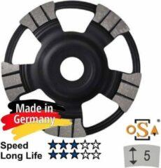 Zwarte Sameda Komschijf MASTER UBM 125x22,23mm SAMEDIA Germany