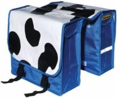 Buzaglo Nietverkeerd Koeienvlekken Dubbele Fietstas - 22 l - Multi