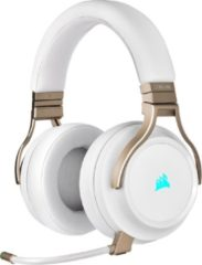Witte Corsair Virtuoso Draadloze 7.1 Gaming Headset - PC - Pearl