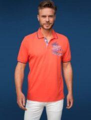 Oranje GCM heren poloshirt orange/coral - maat XL