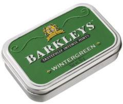 Groene Barkleys Classic mints wintergreen 50 Gram