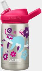CamelBak Eddy+ Kids SST Vacuum Insulated - Isolatie Drinkfles - 350 ml - Metaal (Flower Sloth)