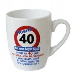 Paperdreams Tekstmok verkeersbord 40jaar nr.7
