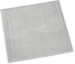 Zilveren De Witte Lietaer Contessa Badmat - 100% Katoen - Badmat (60x60 Cm) - Silver