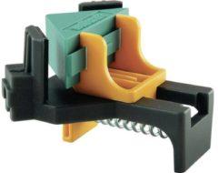 Blauwe Wolfcraft Hoekspanner - Plankdikten 10 - 22 mm