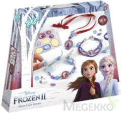 Rode Totum Disney Frozen 2 Disney Frozen 2 Sister love jewels lintsieraden maken - Totum knutselset