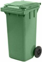 Mijn Afvalbak.be Kunststof Rolcontainer Afvalcontainer Antwerpen Mini container 140 liter groen