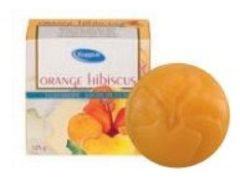 Organic Marseille Kappus zeep Orange Hibiscus 125gr
