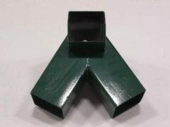 Groene KBT Solide Schommel Hoekverbindingsstuk 'Schuin' vierkant