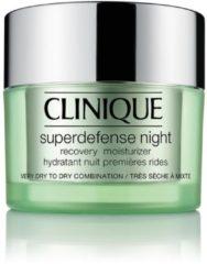 Clinique Superdefense Night Cream - droge/gecombineerde huid - nachtcrème