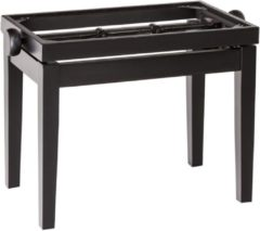 König & Meyer Konig & Meyer 13700 Piano Bench Wooden-Frame Black Matt