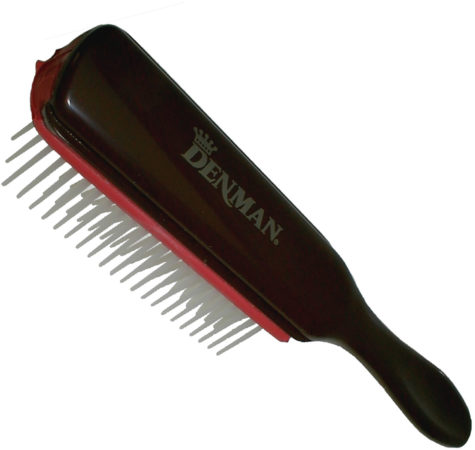 Afbeelding van Rode Denman - Medium 7 Row Styling Brush - Rood - D3