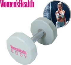 Roze Women's Health Women's Health Urethane dumbbell 10 kg, gewichten voor krachttraining - dumbbells