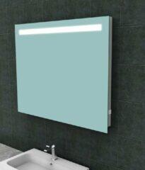 Ced'or spiegel met led verlichting + stopcontact 1000x800