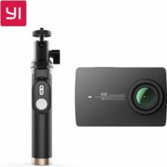 YI Technology Yi 4K Action Camera Zwart met Selfie stick