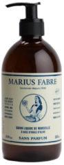 Marius Fabre Marseille zeep zonder parfum met pomp 500 Milliliter