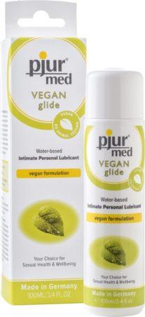 Afbeelding van Groene Pjur - MED Vegan Glide Waterbased 100 ml - Glijmiddel