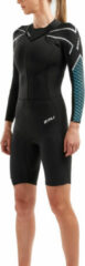 Blauwgroene 2XU Womens Pro-SwimRun SR1 Wetsuit - Wetsuits