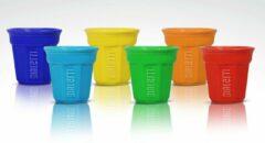 Bialetti - Espressobekers - Set van 6 - Gekleurd