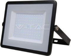 Zwarte Samsung by V-TAC - LED Breedstraler - Schijnwerper - Bouwlamp - 100 Watt - 6400K - IP65 - 5 jaar