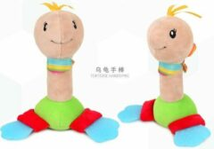 BBSKY Speelgoed/ Speeltje/ Bijtring/ Bijtspeelgoed Baby Bell Bijtring Bed Opknoping Dier Rammelaar Genoemd Muziek Speelgoed (Pluche)/ Schildpad