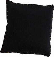 Mycha Ibiza - Sierkussen - Pala - Velvet - katoen - 45 x 45 - Zwart
