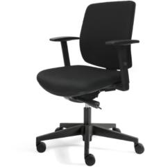Zwarte SKEPP RoomForTheNew Bureaustoel 0229 Comfort- Bureaustoel - Office chair - Office chair ergonomic - Ergonomische Bureaustoel - Bureaustoel Ergonomisch - Bureaustoelen ergonomische - Bureaustoelen voor volwassenen - Bureaustoel ARBO - Gaming stoel -