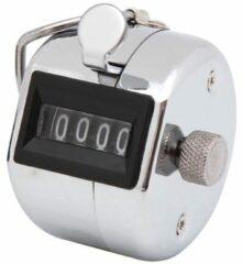 Zilveren Merkloos / Sans marque Handteller Personenteller Hand Tally Counter