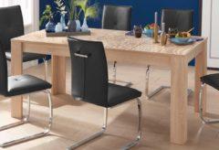 LC Esstisch, Breite 180 cm mit oder ohne Ansteckplatten