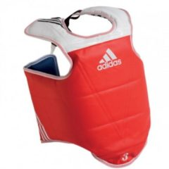 Rode Adidas Omkeerbare Bodyprotector Volwassenen Extra Large