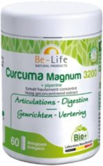 Be-Life Curcuma magnum 3200 + piperine bio 60 Softgel
