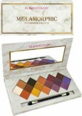 Paarse Kleancolor Metamorphic Eyeshadow Palette - ES210.02 Limestone