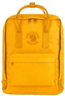 Afbeelding van Gele Fjällräven Fjallraven Re-Kanken Rugzak - 16 Liter - 38 cm Hoog - Sunflower Yellow