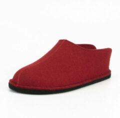 Haflinger - Smily - Hutpantoffels maat 36, rood