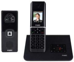 Antraciet-grijze Profoon PDX-7016 - Single DECT telefoon - Antwoordapparaat - Antraciet/Zilver