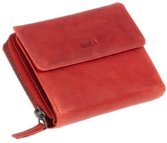 Juscha JU-42171 Portefeuille Mika Rood Dame 15x12,5x4cm