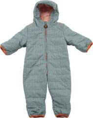 Ducksday - Kids Baby Snow Suit - Overall maat 74, grijs