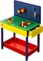 Rode Constructie speeltafel 'Build-it' hout Plum