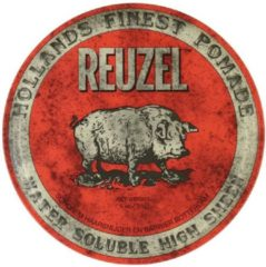 Rode Reuzel Hf Pomade Water Soluble High Sheen - Red 340 gr